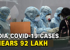 India Covid-19 Cases Tally Around 92 Lakh, 37,975 Fresh Cases In 24 Hours.