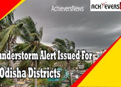 Thunderstorm Alert Issued For 19 Odisha Districts